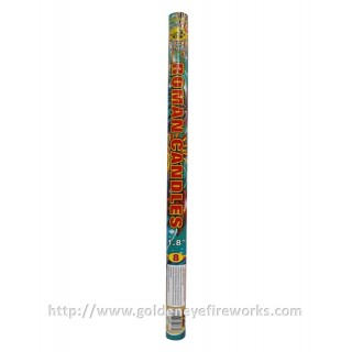 Kembang Api Roman Candle 1.8 inch 8 Shots with Report - GE1808 A-B
